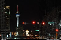 Photo by elki | Las Vegas  las vegas strip, stratosphere